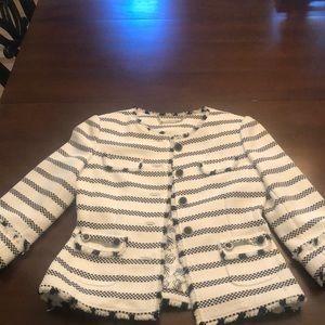 WHBM Chanel style jacket